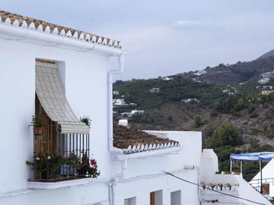 Bergdorf Frigiliana, Costa del Sol, Andalusien, Spanien